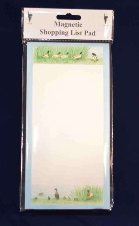 Magnetic Shopping List Notepad