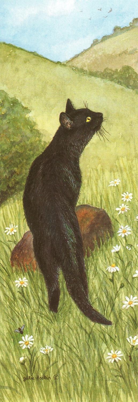Bookmark - Black Cat