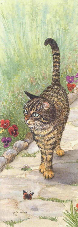 Bookmark - Tabby Cat