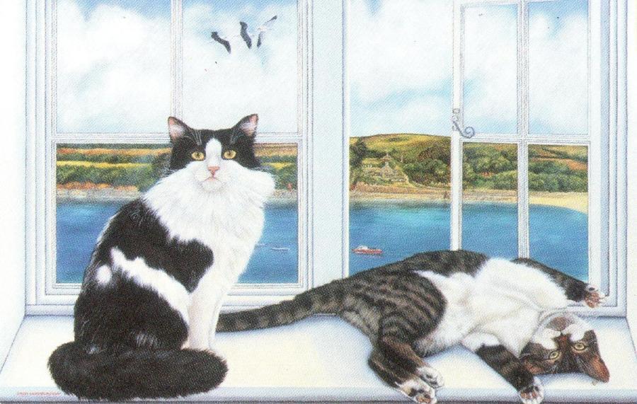 Rectangular Fridge Magnet - Tinker & Nora