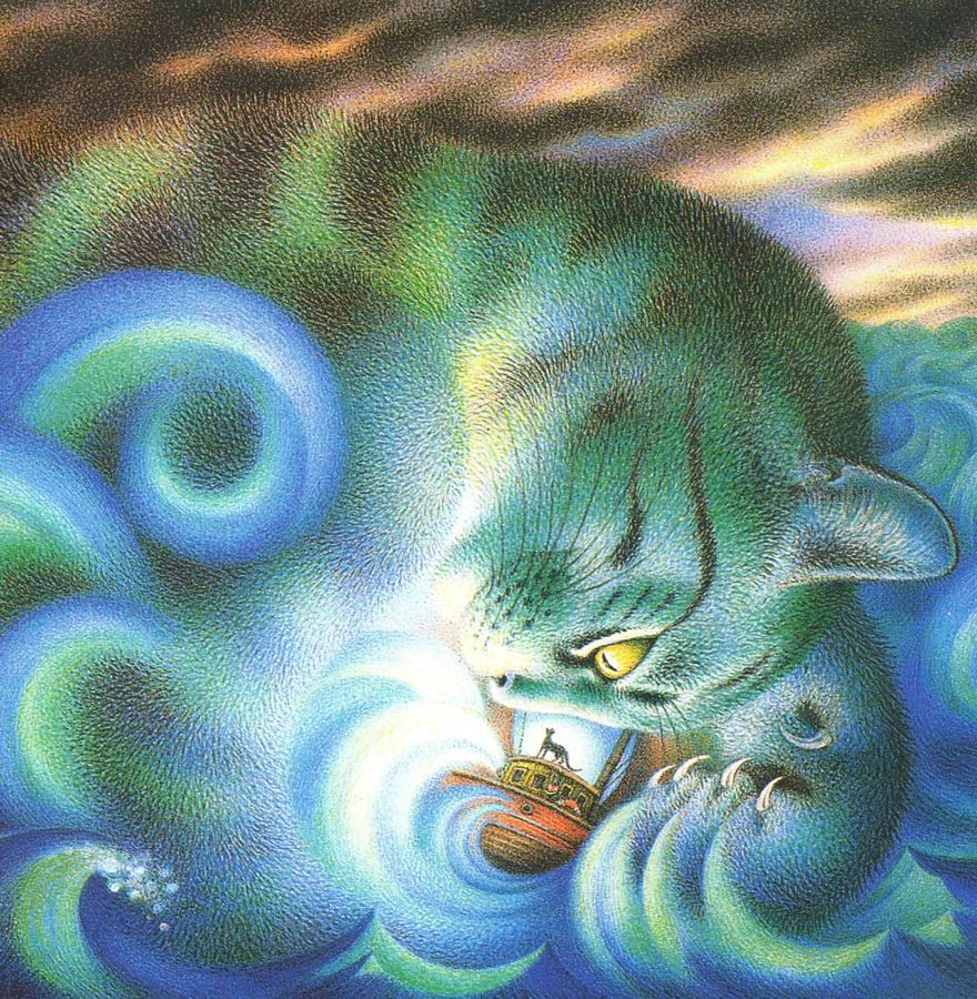 Square Fridge Magnet - Storm Cat Played