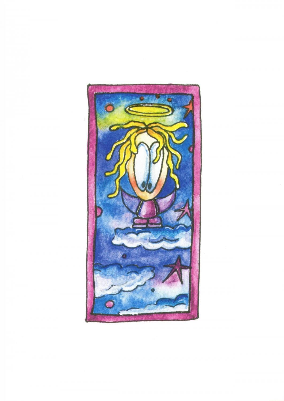 A6 Card - Angel