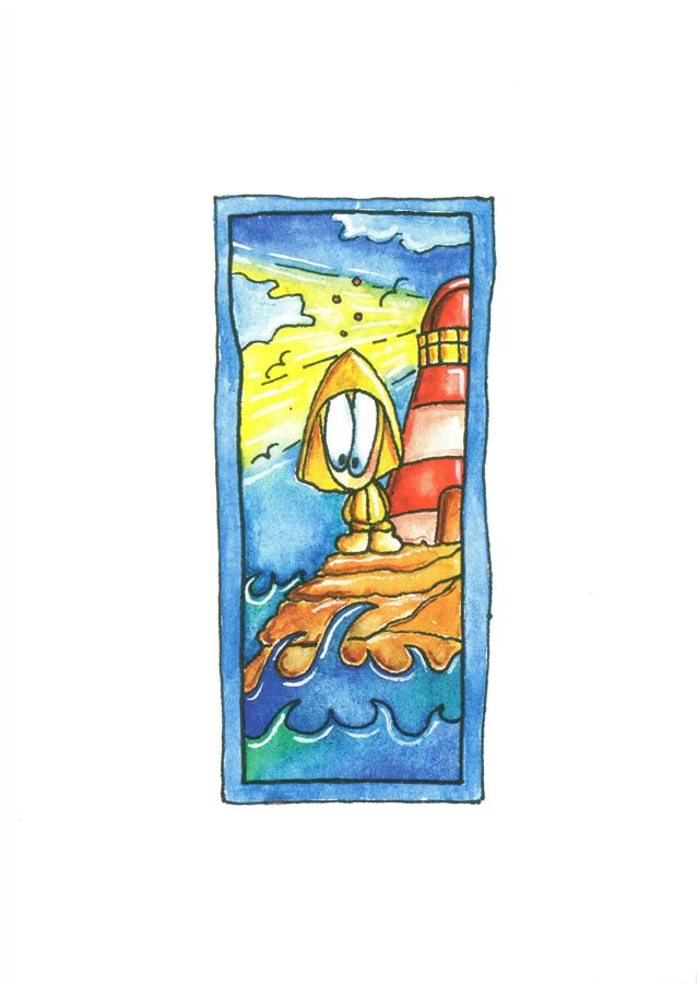 A6 Card - Lighthouse