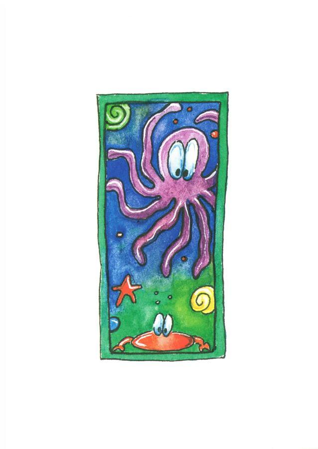 A6 Card - Octopus