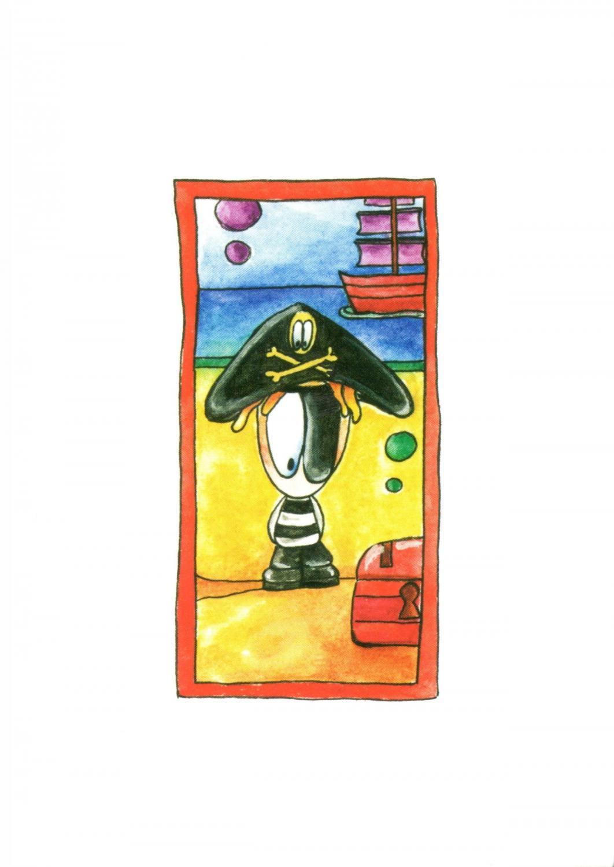 A6 Card - Pirate