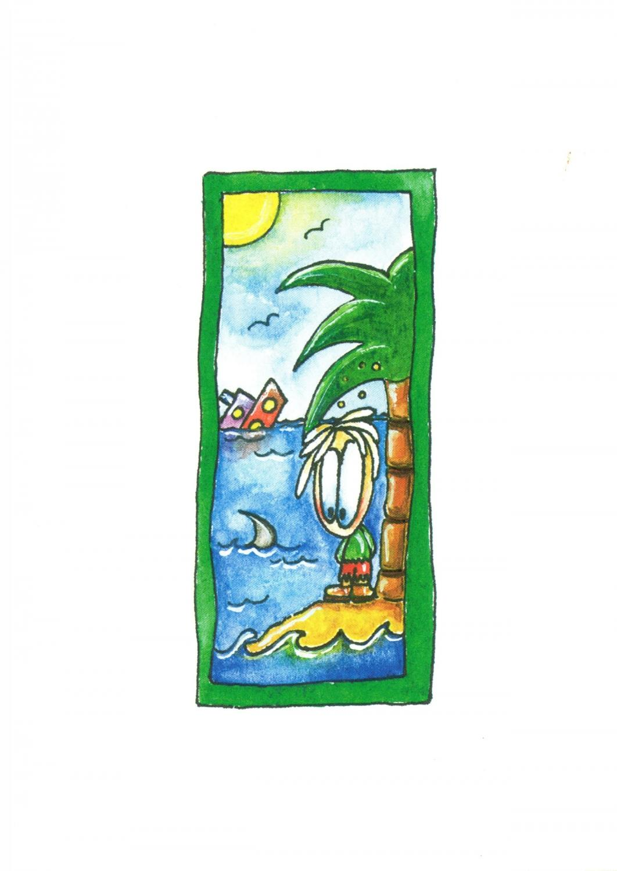 A6 Card - Shipwreck