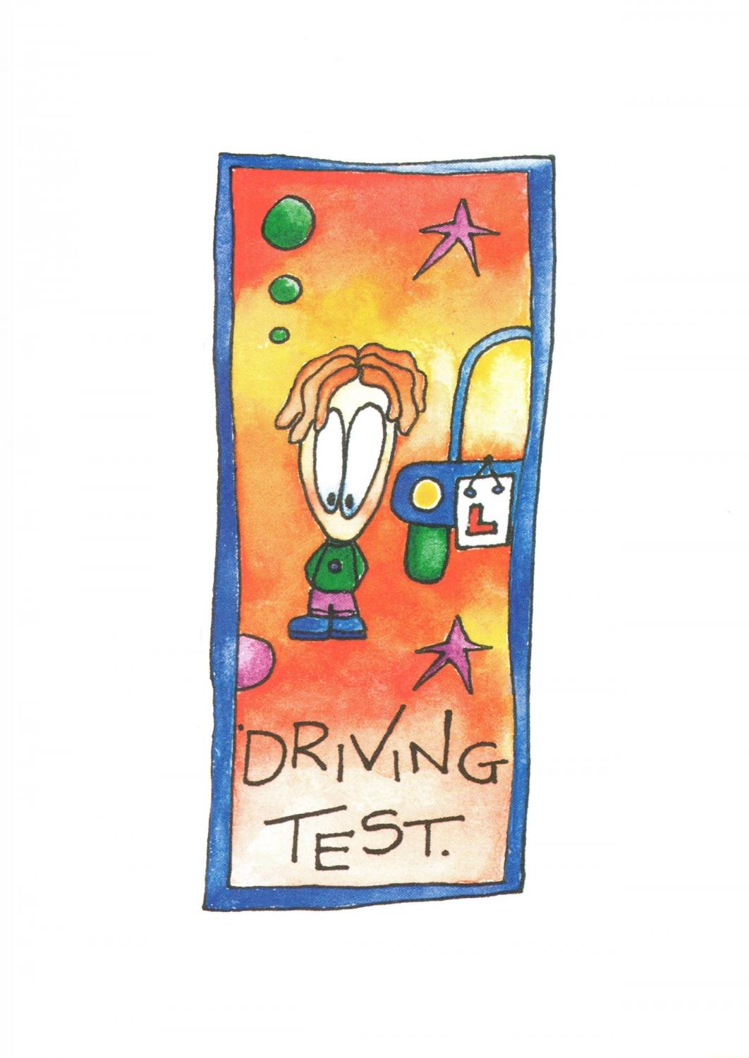 A6 Card - Driving Test