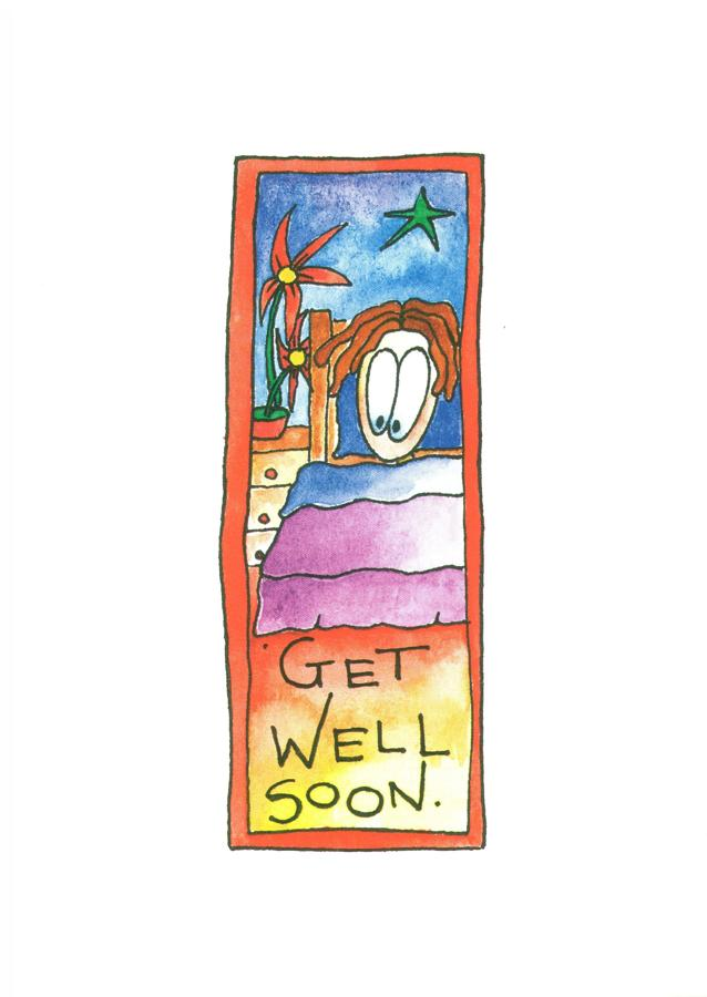 A6 Card - Get Well Soon