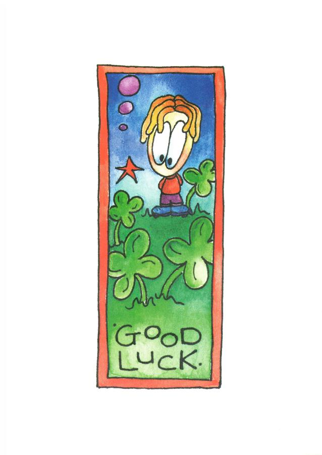 A6 Card - Good Luck