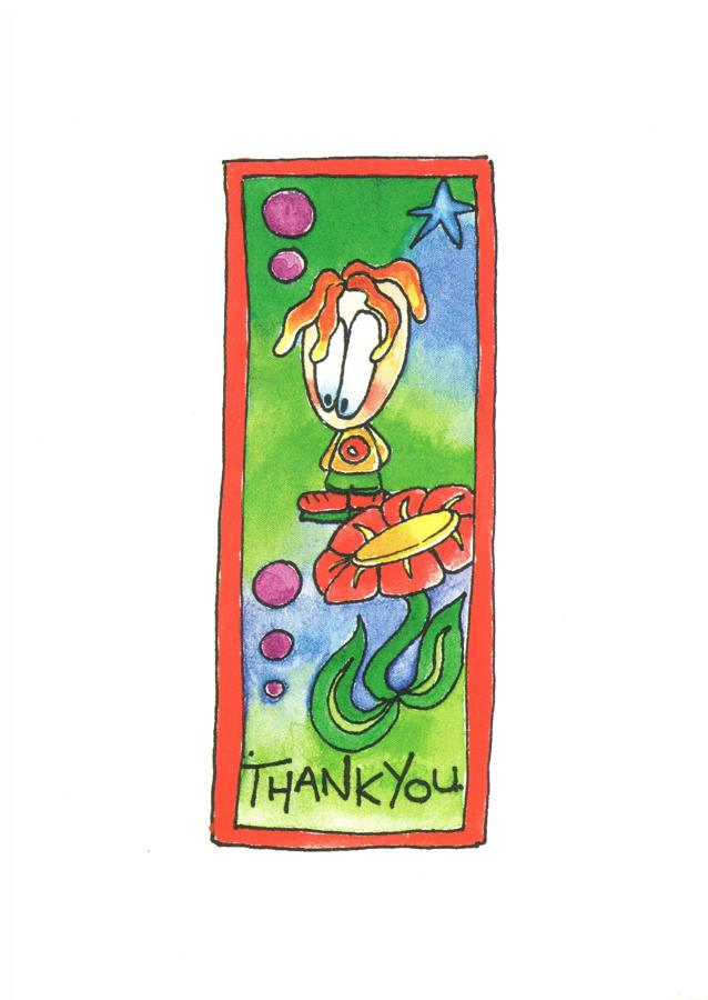 A6 Card - Thank you