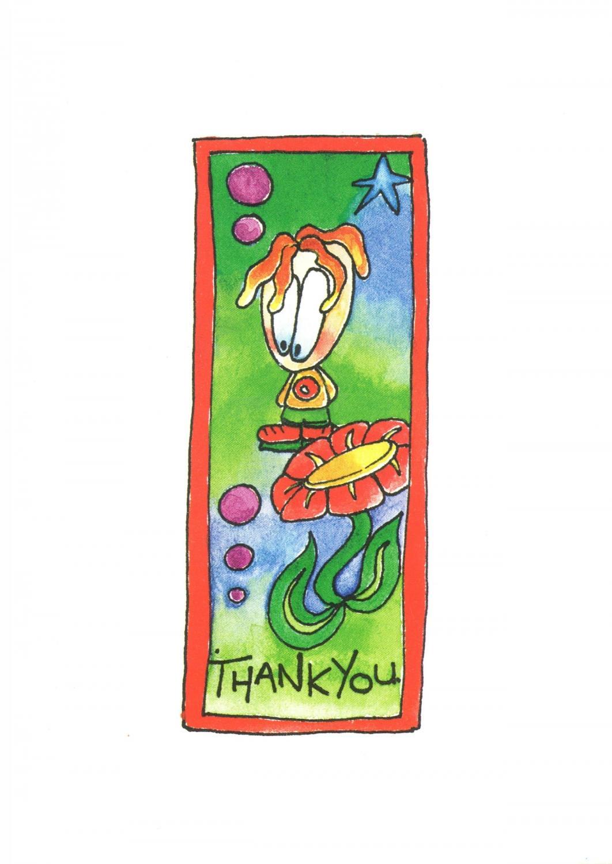 A6 Card - Thank you