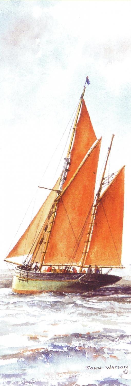 Bookmark - Brixham Trawler