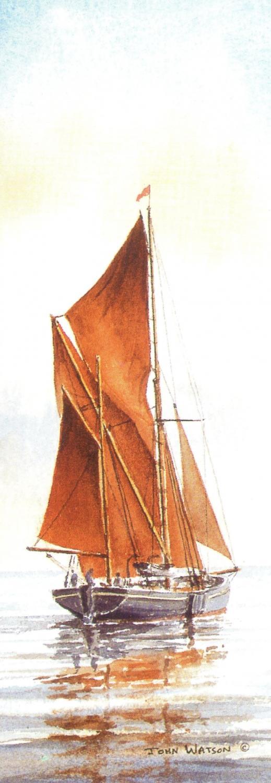 Bookmark - Thames Barge