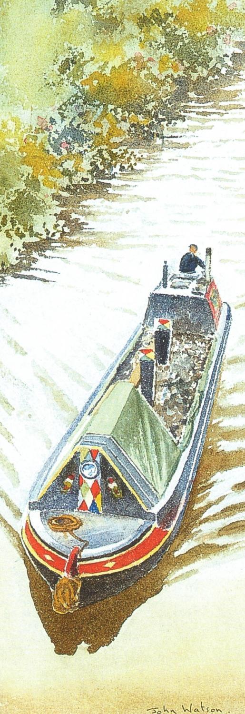 Bookmark - Coal Barge