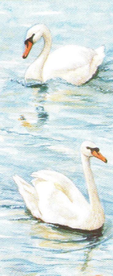Mini Keyring - Swan