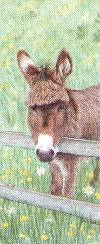 Mini Keyring - Donkey