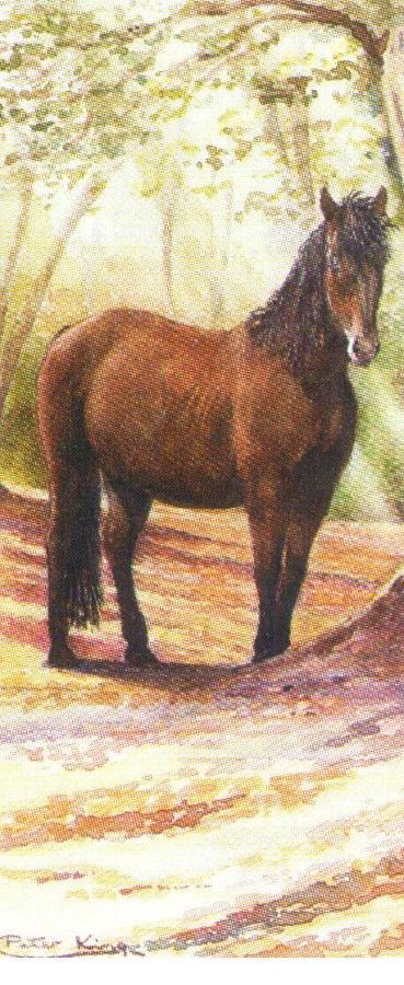 Mini Keyring - New Forest Pony