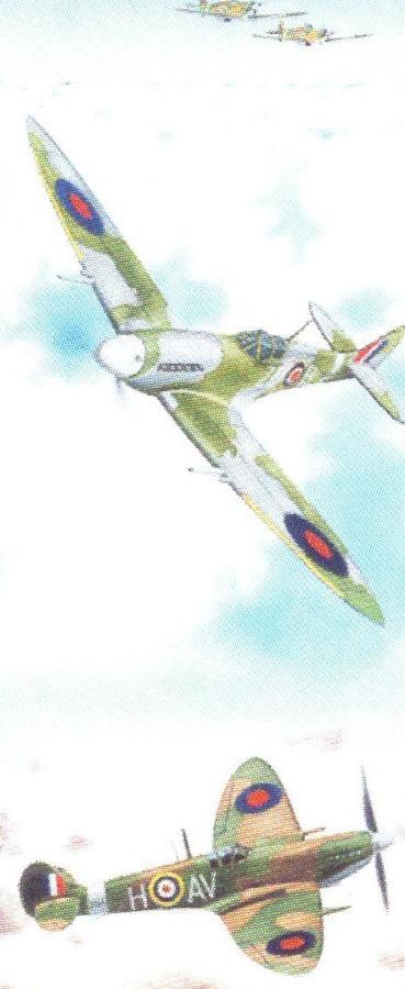 Mini Keyring - Spitfire