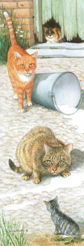 Bookmark - Farmyard Cats