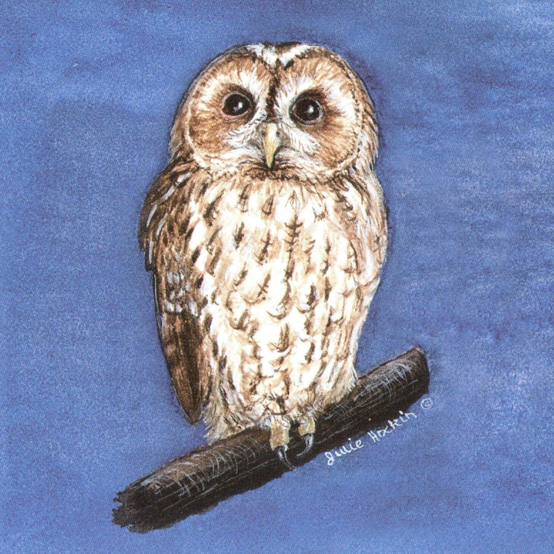 Acrylic Coaster - Tawny Owl