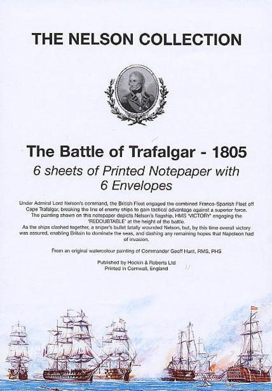 A5 Notepaper - Trafalgar