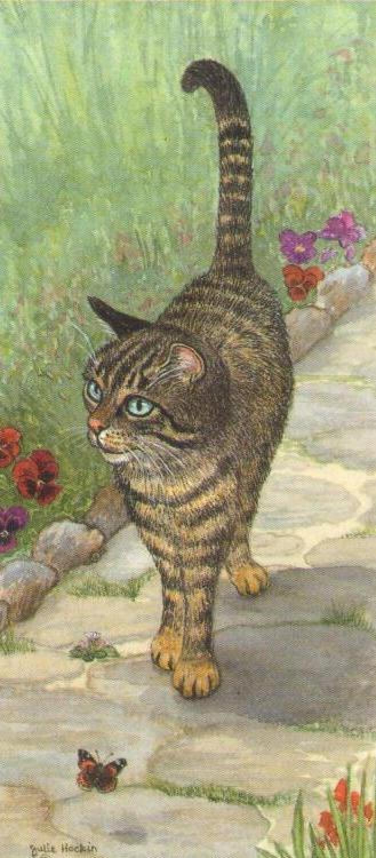 Magnetic Bookmark - Tabby Cat