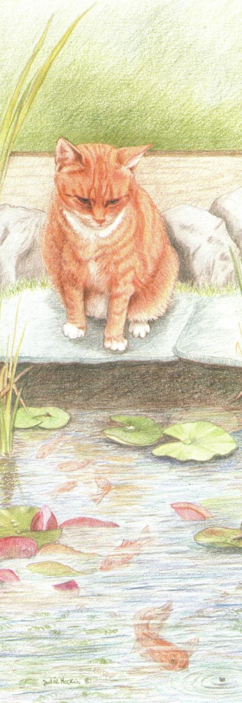 Bookmark - Ginger Cat