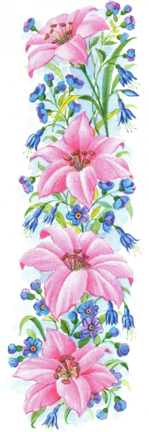 Bookmark - Pink Lily