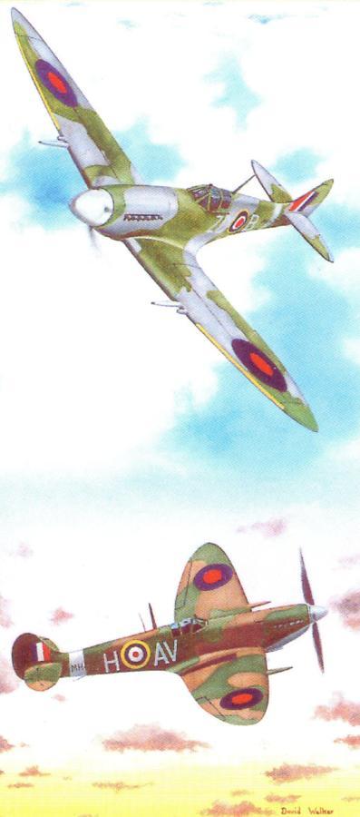 Magnetic Bookmark - Spitfire