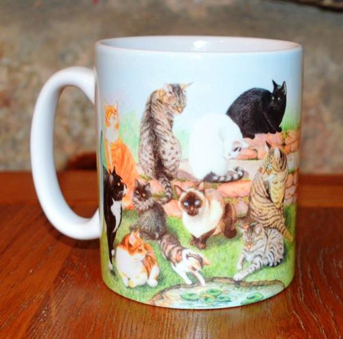 Mug - Catscape