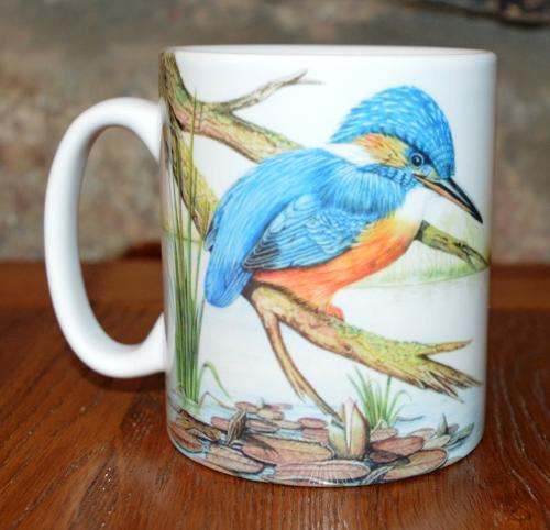 Mug - Kingfisher