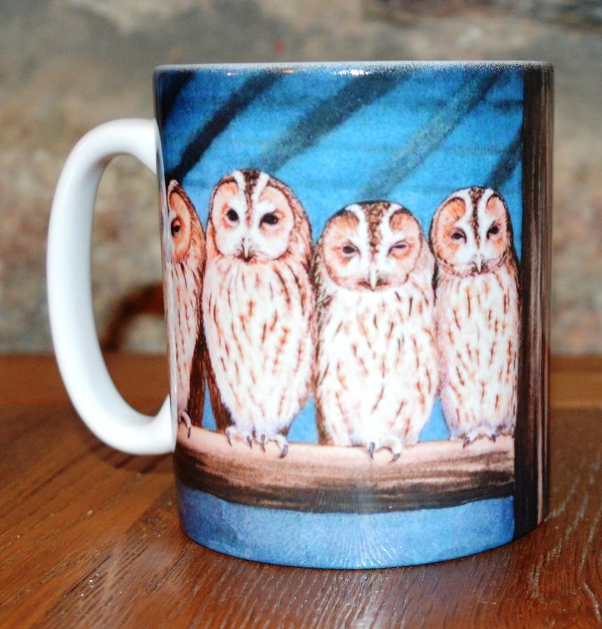 Mug - Rescue Owls