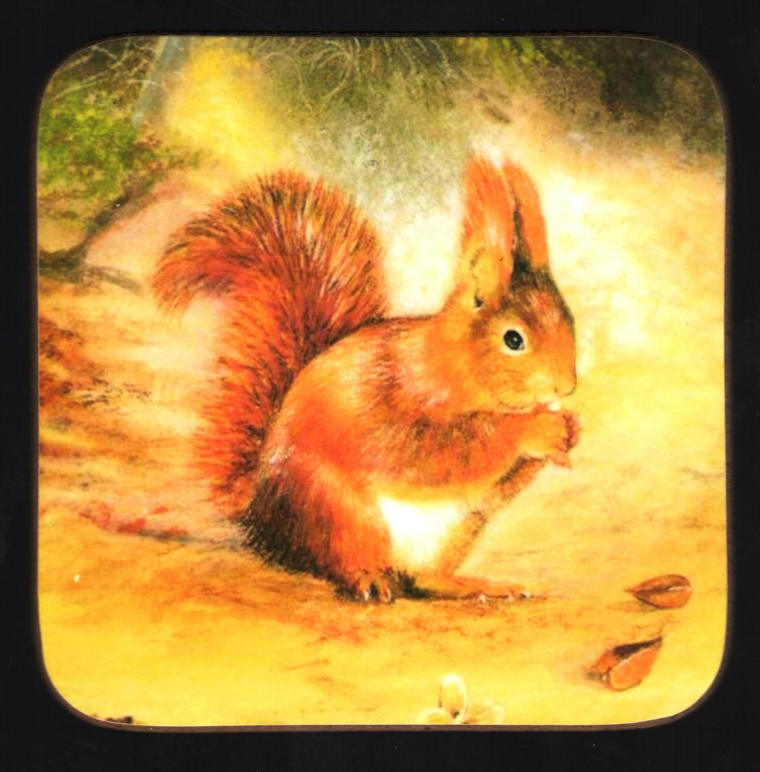 Coaster - Red Squirrel