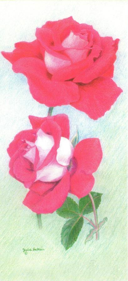 Magnetic Bookmark - Red Rose