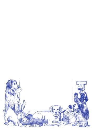 A5 Notepad - Dogs