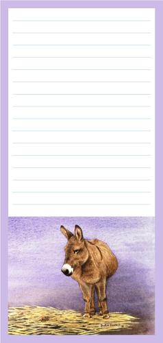 Magnetic Shopping List Pad - Donkey