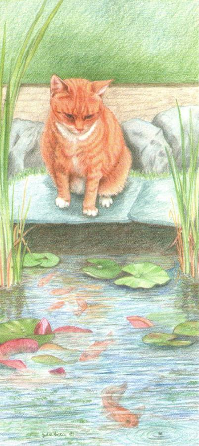 Magnetic Bookmark - Ginger Cat