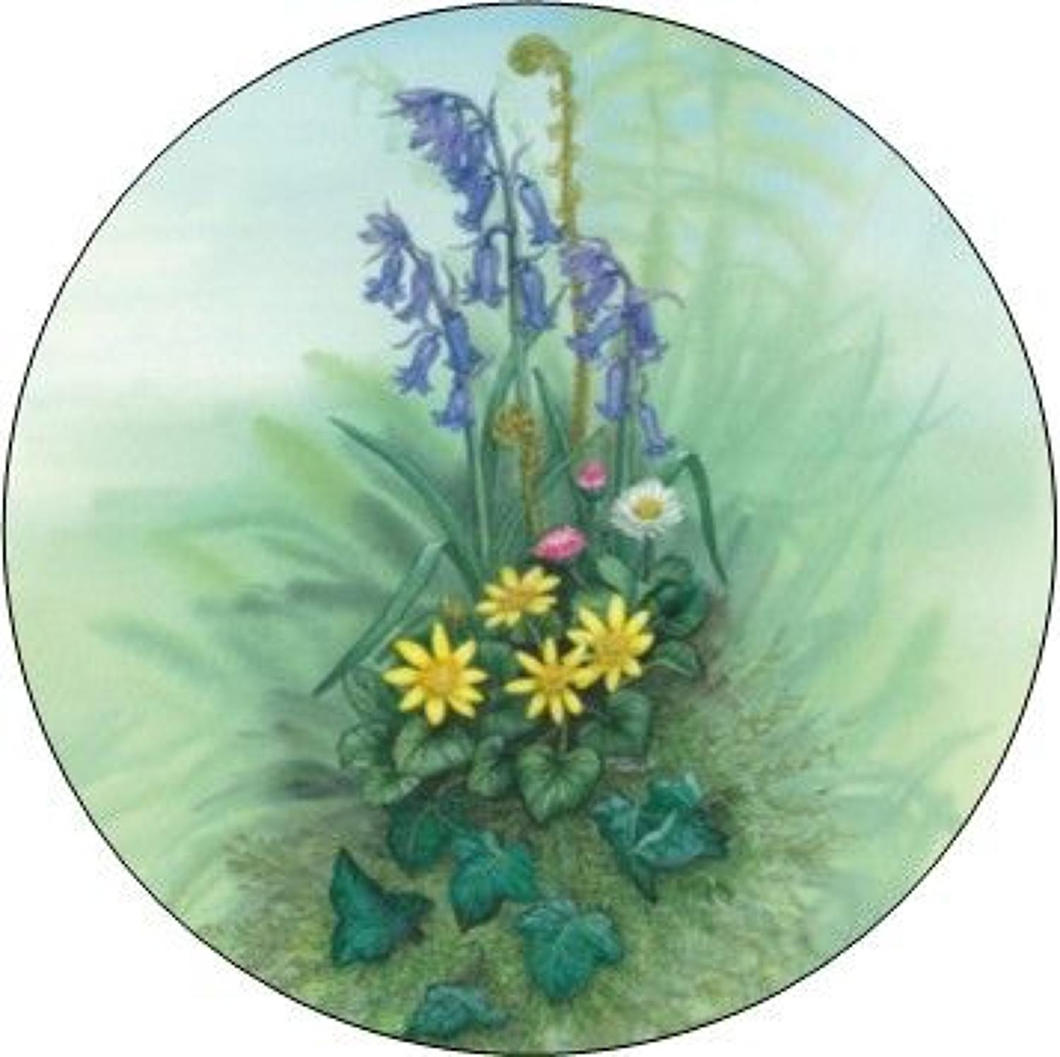 Compact Pocket Mirror - Bluebell
