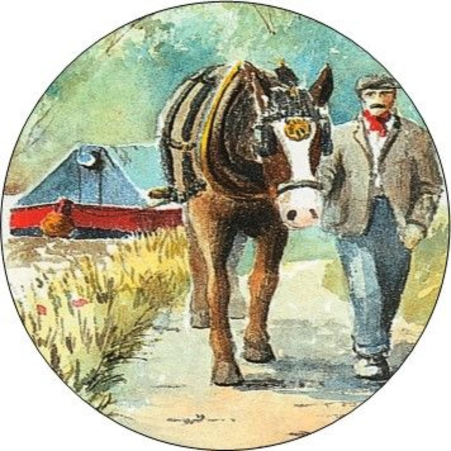 Compact Pocket Mirror - One Horse