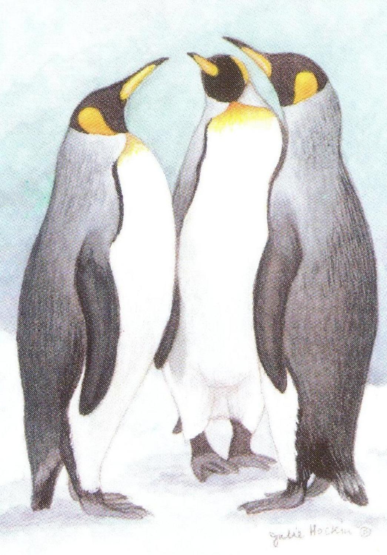 Bottle Opener Keyring - Penguins