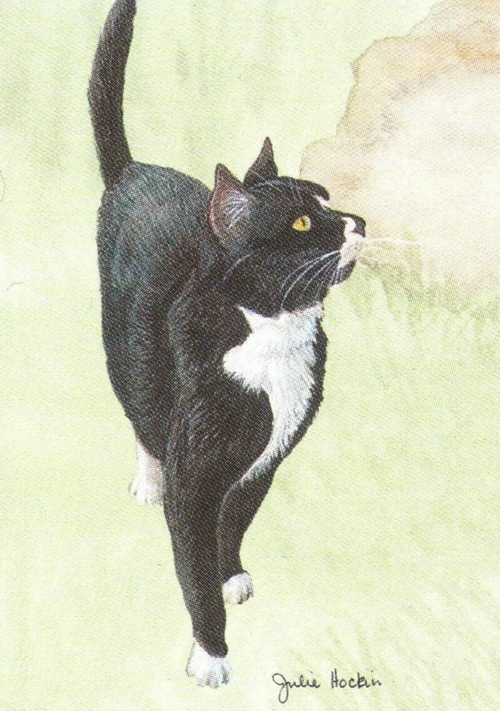 Bottle Opener Keyring - Black Cat