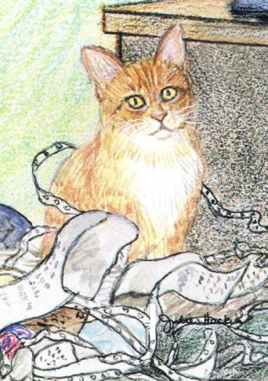 Bottle Opener Keyring - Ginger Cat