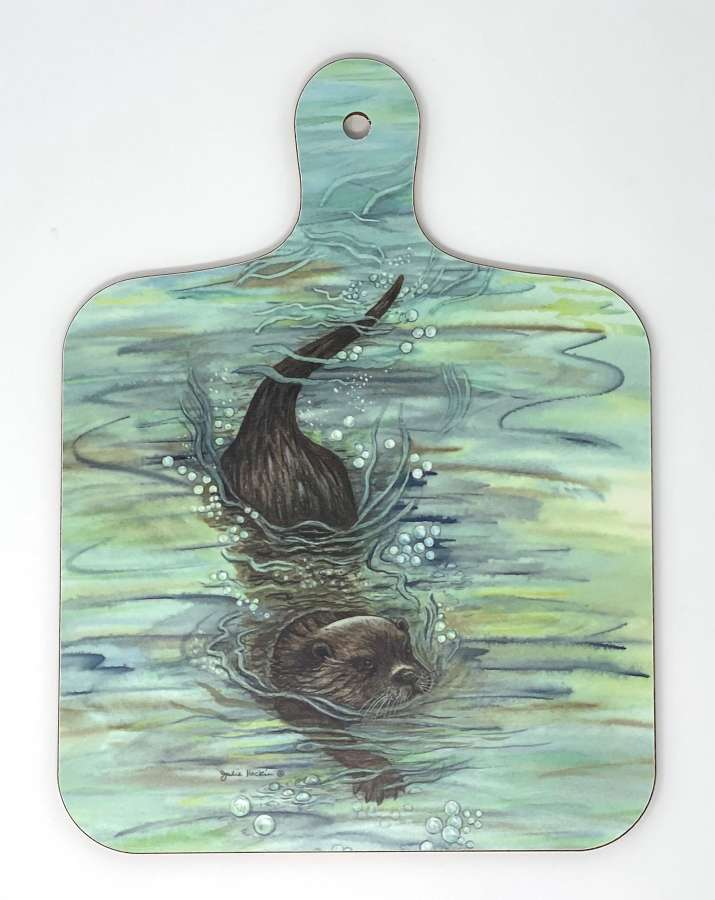 Mini Chopping Board - Otter