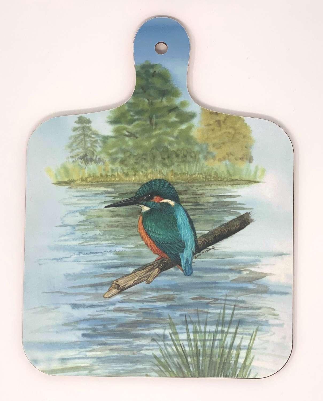 Mini Chopping Board - Kingfisher