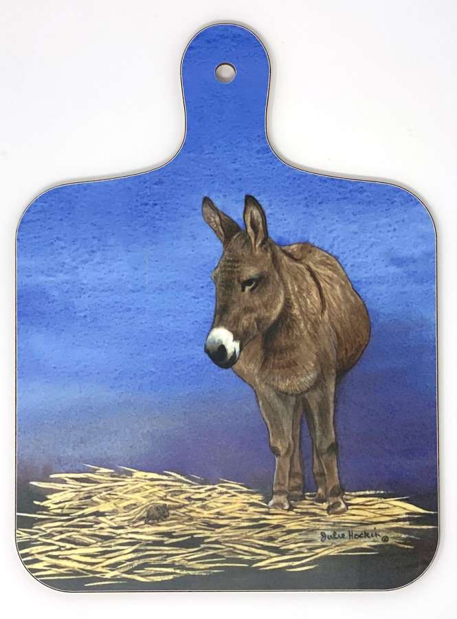 Mini Chopping Board - Donkey