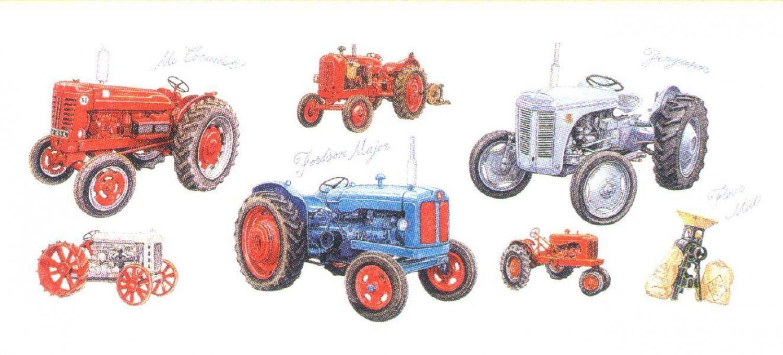 Magnetic Letter Opener - Tractors