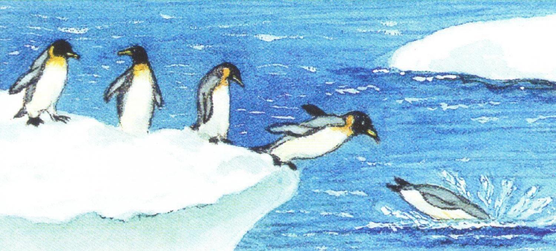 Magnetic Letter Opener - Penguins