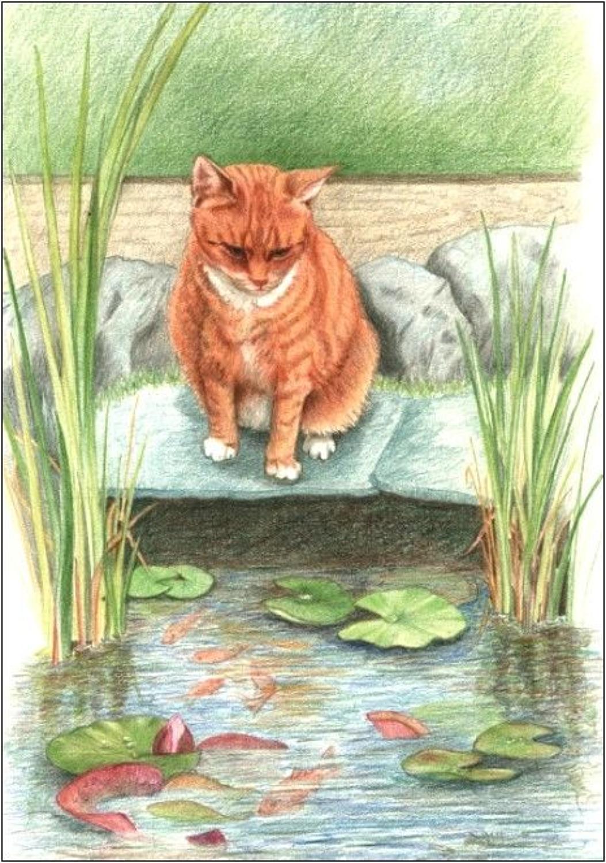 Pen - Ginger Cat