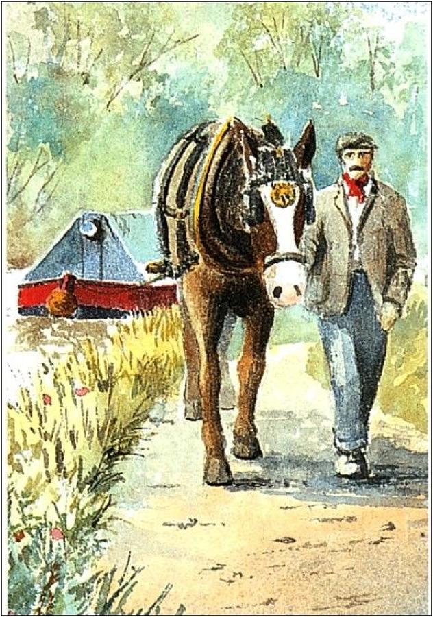Pen - One Horse