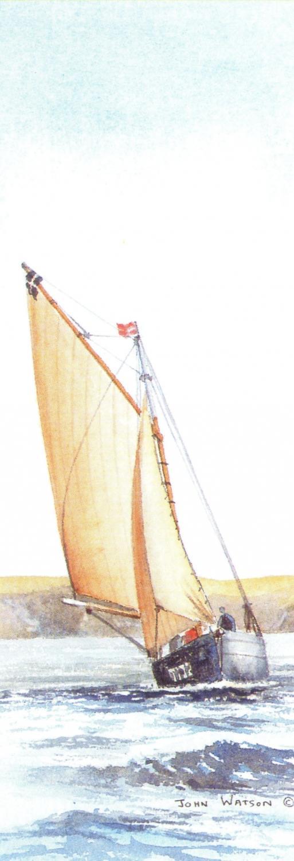 Tall Pad - Cornish Oyster Boat